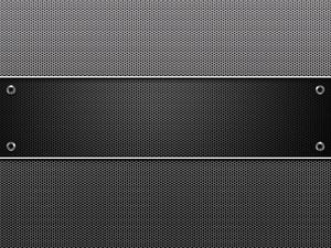 Carbon Dots Metal Panel Background