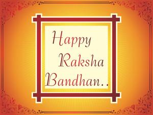 Card For Happy Rakshabandhan