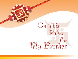 Card For Rakhi Festival