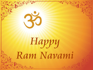 Card For Ramnavami Festival