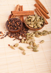 Cardamom Pods And Cloves