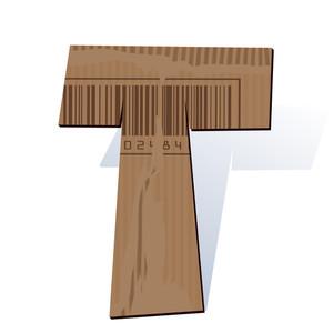Cardboard Vector Abc