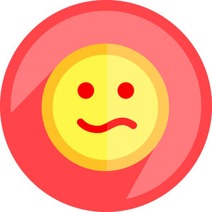 Caricature Smiley Face