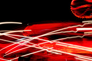Carnival Abstract Lights Background