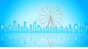 Carnival Ferris Wheel City
