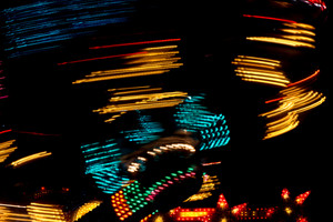 Carnival Lights Abstract Background