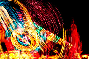 Carnival Lights Background