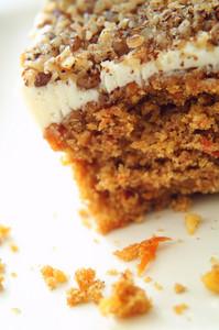 Carrot Cake Portion