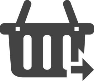 Cart 2 Glyph Icon