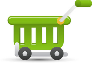 Cart Green Lite Ecommerce Icon