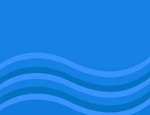 Cartoon Background - Blue Wavy Comic Background