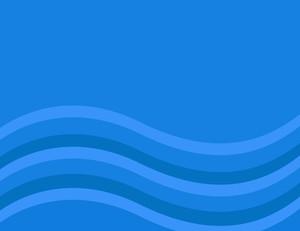 Cartoon Background - Blue Wavy Comic Background
