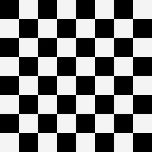 Cartoon Background - Chess Pattern