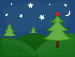 Cartoon Background - Christmas Background