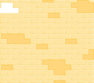 Cartoon Background - Comic Bricks Wall