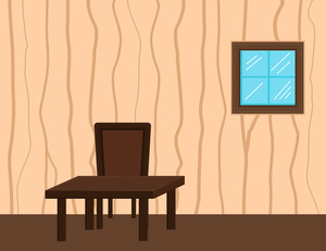 Cartoon Background - Inside Room