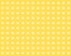 Cartoon Background - Yellow Dotted Pattern