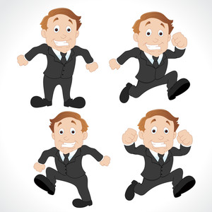 Cartoon Businessman Vectors