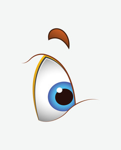 Cartoon Cute Eye