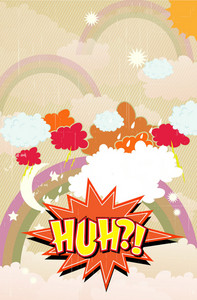 Cartoon Explosion Vector Illustration
