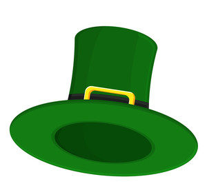 Cartoon Leprechaun Hat Vector