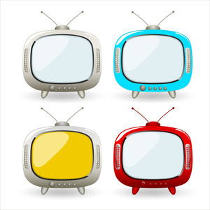 Cartoon Tv Vectors