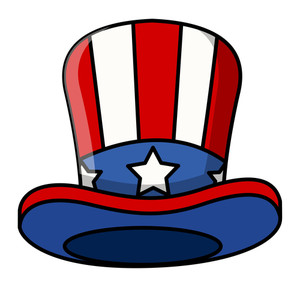 Cartoon Uncle Sam Cap