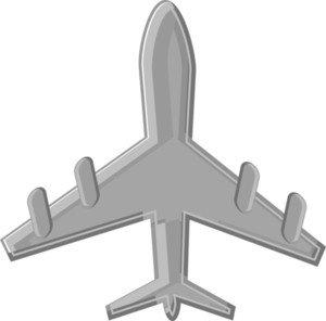 Cartoon Vector - Aeroplane