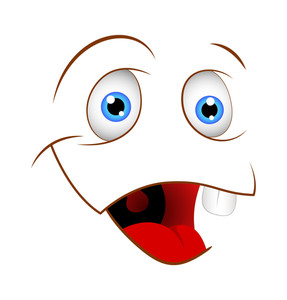 Cartoon Vector Happy Face