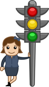 Cartoon Vector - Traffic Lights