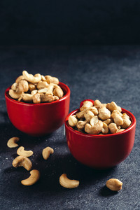 Cashews In Cups