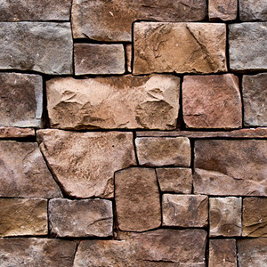 Castle Boundry Seamless Texture