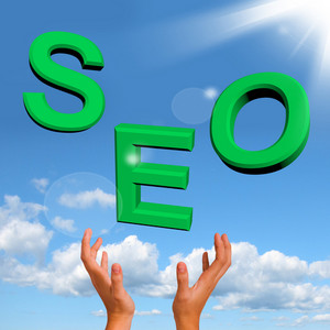 Catching Seo Word Representing Internet Optimization And Promotion