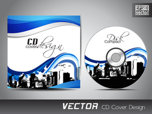 Cd Cover Presentation Design Template