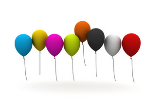 Celebration Balloons Background