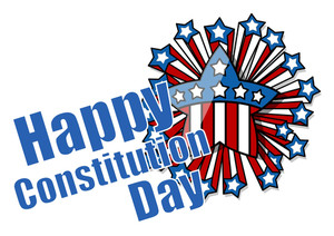 Celebration  Constitution Day Vector Illustration