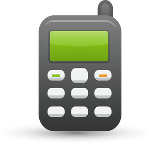 Cell Phone Lite Communication Icon