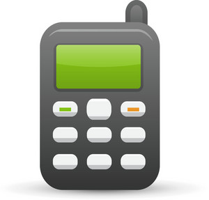 Cell Phone Lite Ecommerce Icon
