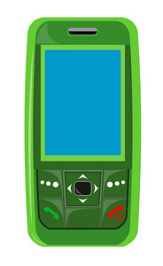 Cellphone Green