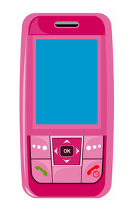 Cellphone Pink