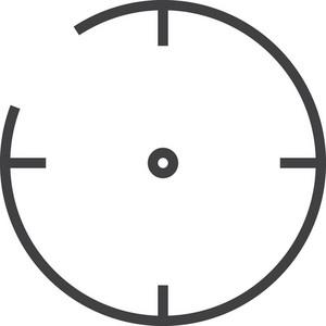 Center Minimal Icon