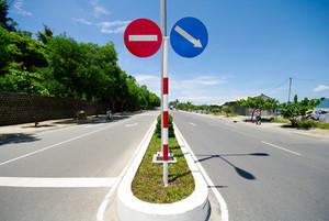 Center of asia road