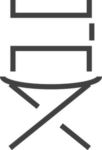 Chair Minimal Icon