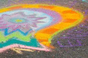 Chalk Art Background