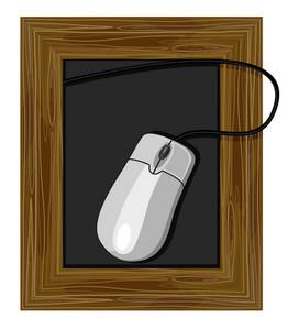 Chalkboard Mouse