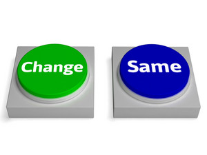 Change Same Buttons Shows Changing Or Improvement