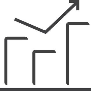 Chart 2 Minimal Icon