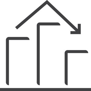 Chart 3 Minimal Icon