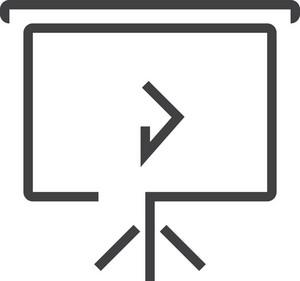 Chart 5 Minimal Icon