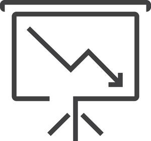 Chart 6 Minimal Icon